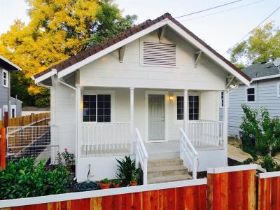 Sacramento Single Family Home For Sale: 3114 40th Street