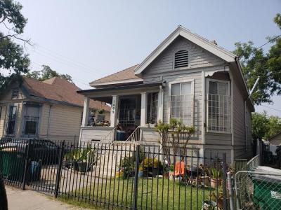 Stockton Single Family Home For Sale: 1409 East Oak Street