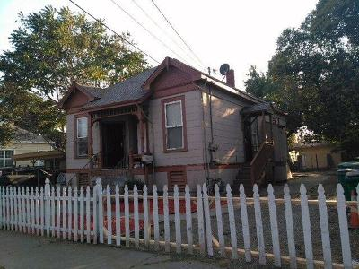 Stockton Multi Family Home For Sale: 735 North Pilgrim Street
