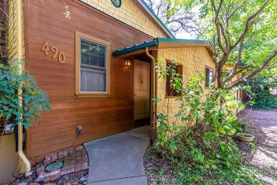 Auburn Single Family Home For Sale: 490 Foresthill Avenue