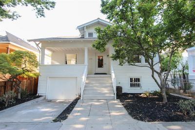Single Family Home For Sale: 1104 V Street