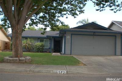 Patterson Single Family Home For Sale: 572 Inaudi Drive