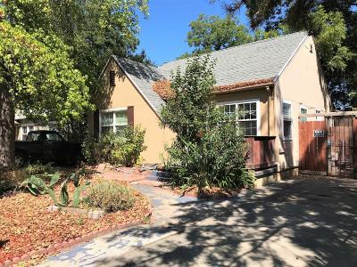 Sacramento Single Family Home For Sale: 4633 13th Avenue