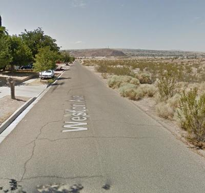 Barstow CA Residential Lots & Land For Sale: $199,900