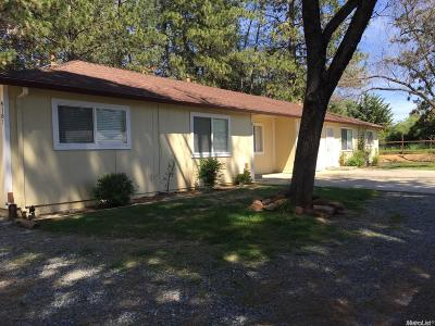 Diamond Springs Multi Family Home For Sale: 4187 Diamond Drive