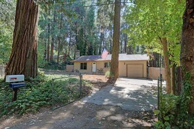 Pollock Pines CA Single Family Home For Sale: $269,000