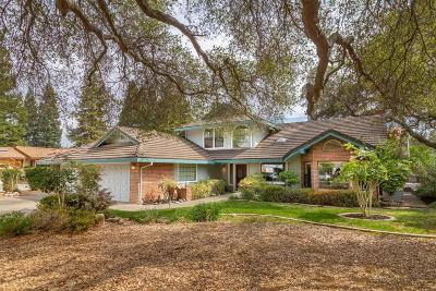 Rancho Murieta Single Family Home For Sale: 6635 Camino De Luna