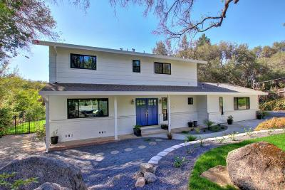 Granite Bay Single Family Home For Sale: 8377 Midland Road