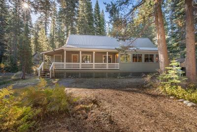 Soda Springs Single Family Home For Sale: 51247 Donner Pass Road