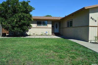 Stockton Single Family Home For Sale: 8818 Santa Maria Way