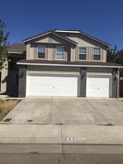 Stockton Single Family Home For Sale: 4230 West Giselle Lane