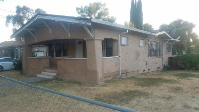 Stockton Single Family Home For Sale: 1803 Sikh Temple Street
