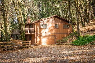 Grass Valley Single Family Home Active Short Cont.: 15965 Gibboney Lane