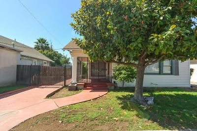 Stockton Single Family Home For Sale: 1241 North Wilson