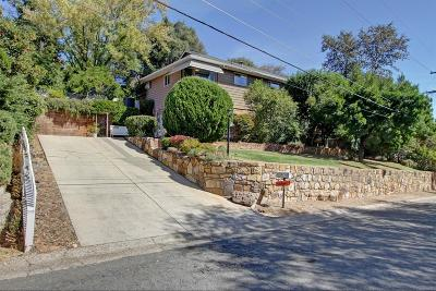 El Dorado County Single Family Home For Sale: 575 Fairview Drive