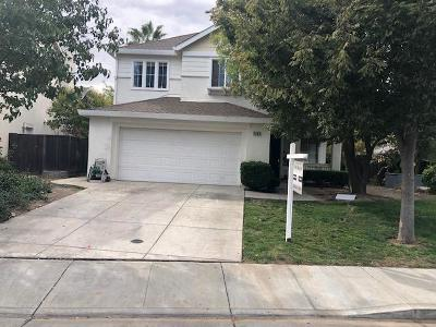 Tracy Single Family Home For Sale: 2489 Almanor Drive