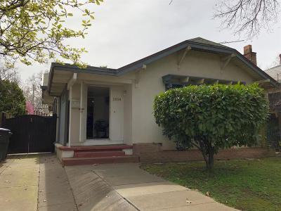 Sacramento Single Family Home For Sale: 1514 U Street