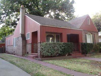 Sacramento Single Family Home For Sale: 3212 D Street
