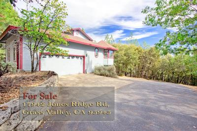 Grass Valley Single Family Home For Sale: 17942 Jones Ridge