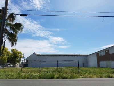 Stockton Commercial Lots & Land For Sale: 741 North Hunter Street