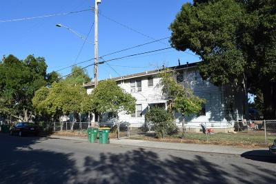 Stockton Multi Family Home For Sale: 1525 East 6th Street