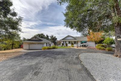 Placerville Single Family Home For Sale: 3600 Indian Creek Road
