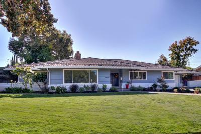 Single Family Home For Sale: 3000 American River Drive