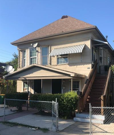 Stockton Multi Family Home For Sale: 2029 East Sonora Street