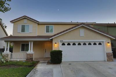 Tracy Single Family Home For Sale: 444 Glenbriar Circle
