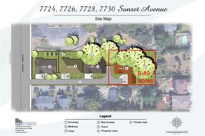 Fair Oaks Residential Lots & Land For Sale: 7730 Sunset Avenue