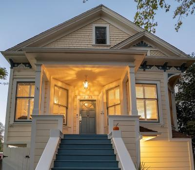 Sacramento County Single Family Home For Sale: 2113 N Street