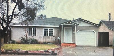 Modesto CA Single Family Home For Sale: $310,000