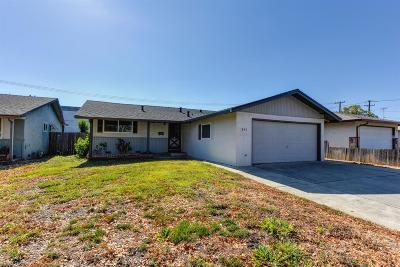 Vacaville Single Family Home For Sale: 191 Tahoe Drive
