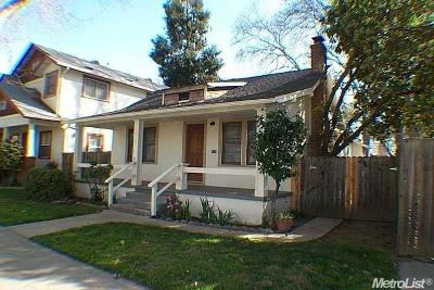 Sacramento Single Family Home For Sale: 2814 C Street