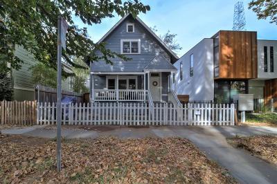 Sacramento Single Family Home For Sale: 1507 D Street