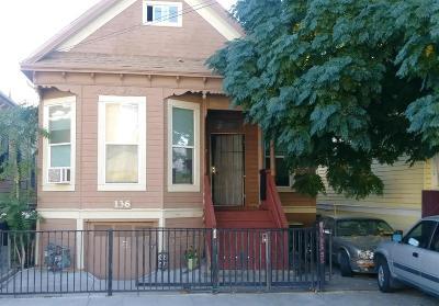 Stockton Multi Family Home For Sale: 136 North Aurora Street