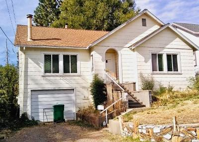Grass Valley Single Family Home For Sale: 10380 Alta Street