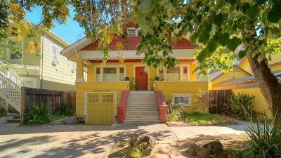 Sacramento Single Family Home For Sale: 521 20th Street