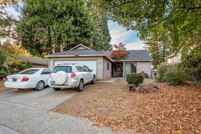 Grass Valley Single Family Home For Sale: 540 Fawcett Street