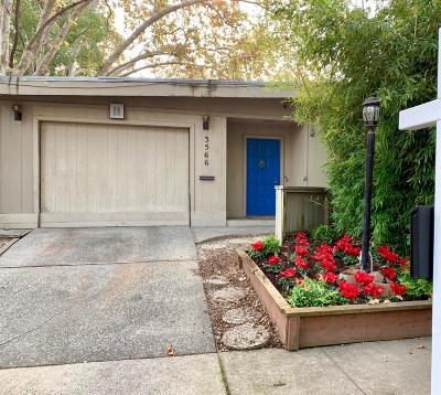 Single Family Home For Sale: 3566 N Street