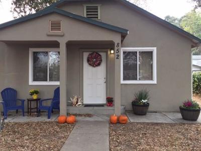 West Sacramento Single Family Home Contingent: 852 Bryte Avenue
