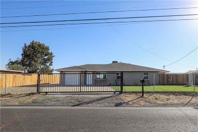 Merced Single Family Home For Sale: 1841 Belcher Avenue