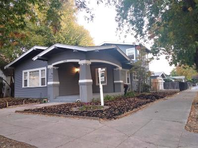 Stockton Single Family Home For Sale: 948 Poplar Avenue