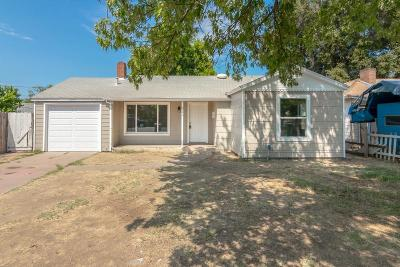 Modesto CA Single Family Home For Sale: $219,900