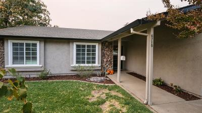 Citrus Heights Single Family Home For Sale: 6715 Deerfield Drive