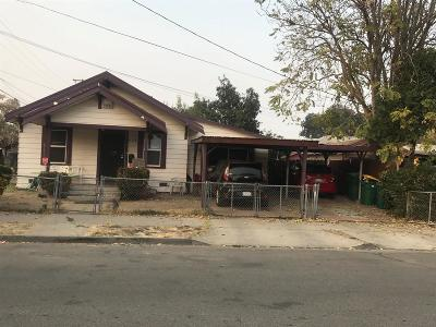 Stockton Single Family Home For Sale: 535 E 6th