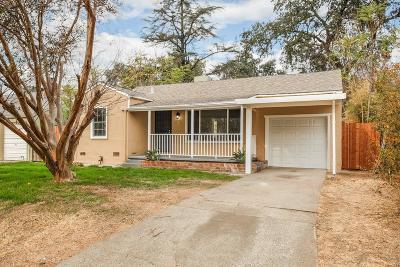 Sacramento Single Family Home For Sale: 1729 Rosalind Street