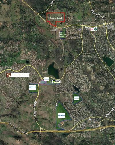 Rescue Residential Lots & Land For Sale: 2425 Green Valley Road