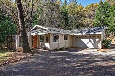 Grass Valley Single Family Home For Sale: 14304 Brooks Road