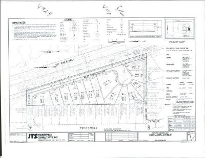 Sacramento Residential Lots & Land For Sale: 7821 Marin Avenue